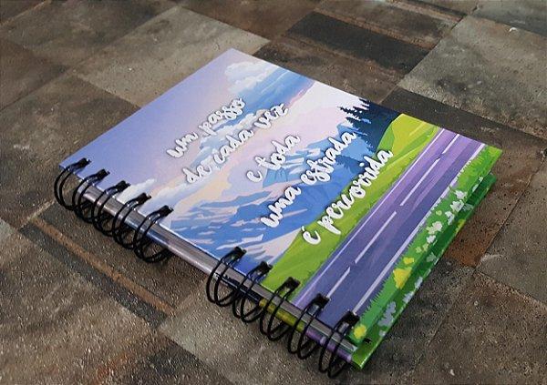 Caderno Pautado Espiral  A6- ESTRADA