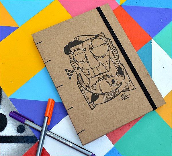 Sketchbook Kraft Eco Pólen - Corei 01