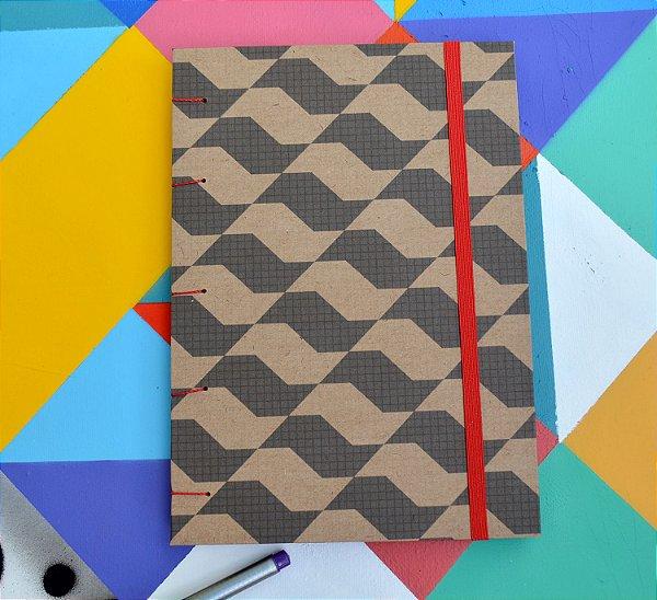 Sketchbook Kraft Eco Pólen - SP