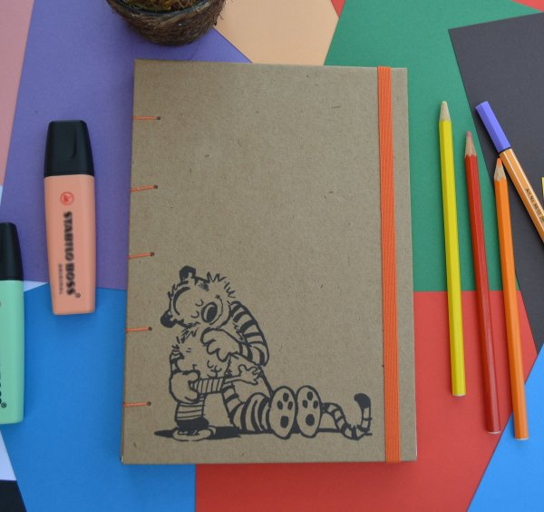 Sketchbook Kraft Eco Pólen - Calvin