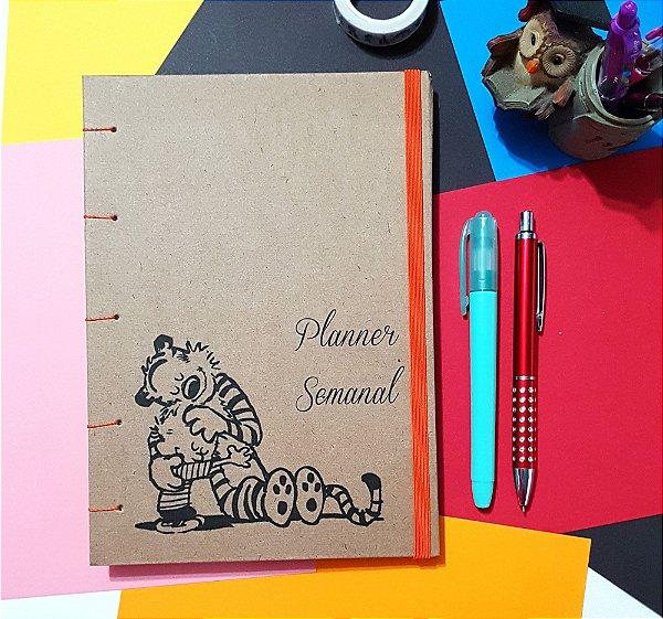 Planner Semanal - Calvin