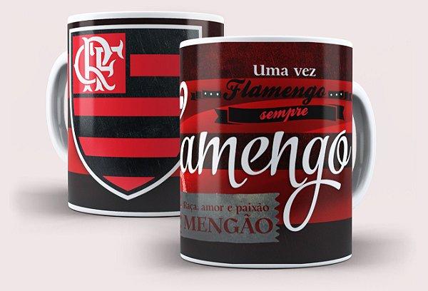 Caneca Flamengo Mengão