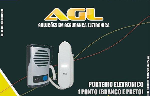Porteiro Eletrônico AGL Para uma casa- Pode Coloca Até duas Extenções