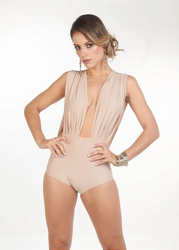 Body Decotado Nude
