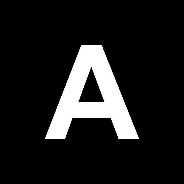 Chapas ABS para gravação mecânica preta com fundo branco