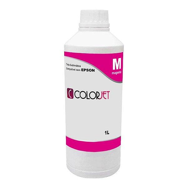 Tinta Sublimática Magenta Compatível Colorjet para Epson 1L