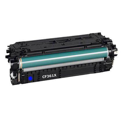 Toner Compatível MyToner para HP CF361X 61X Ciano 508X | M553DN M-553DN M577DN M-577DN