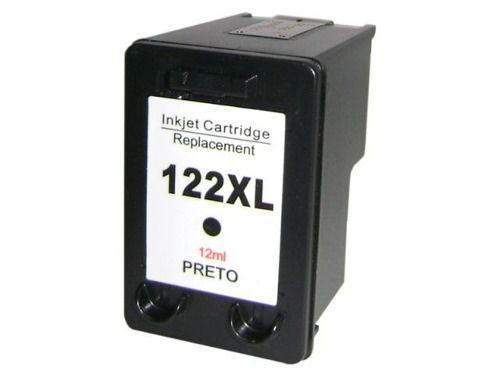 Cart. Tinta Compat. MyToner para HP HP 122 CH561HB Preto