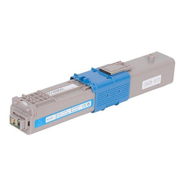 Toner Compatível MyToner para Okidata 469706 469703 Ciano | C310 MC351 C310N MC361DN C330 MC561
