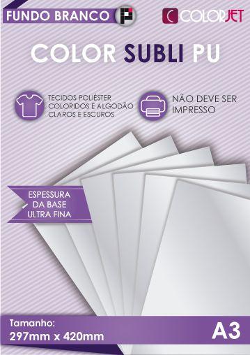 Papel Color Subli PU A3