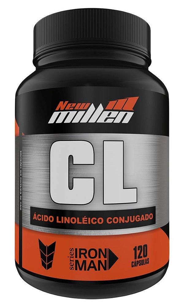 CL Ácido Linoleico Conjugado - 120 Cápsulas (NEW MILLEN)