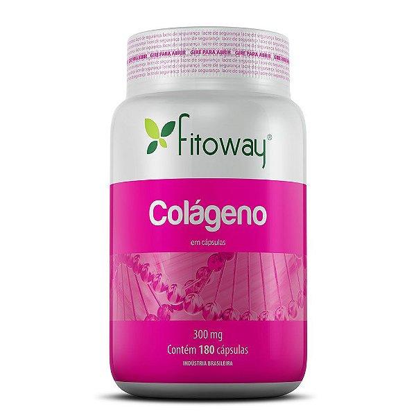 Colágeno 300mg - 60 Cápsulas (Fitoway)