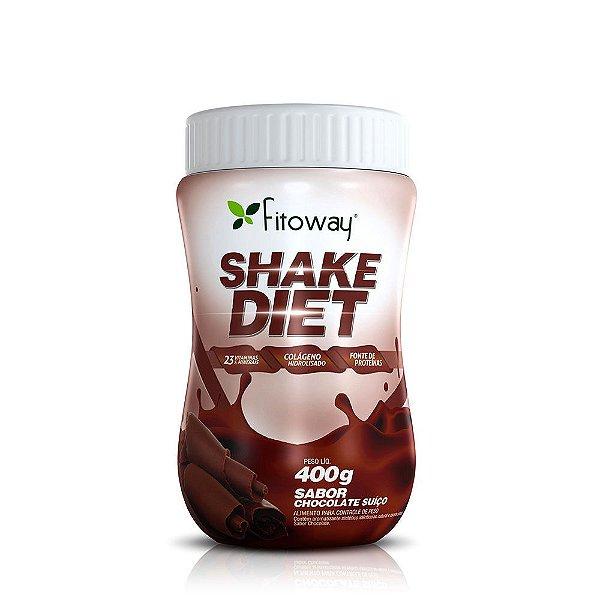 Shake Diet com Proteína Sabor Chocolate - 400g (Fitoway)