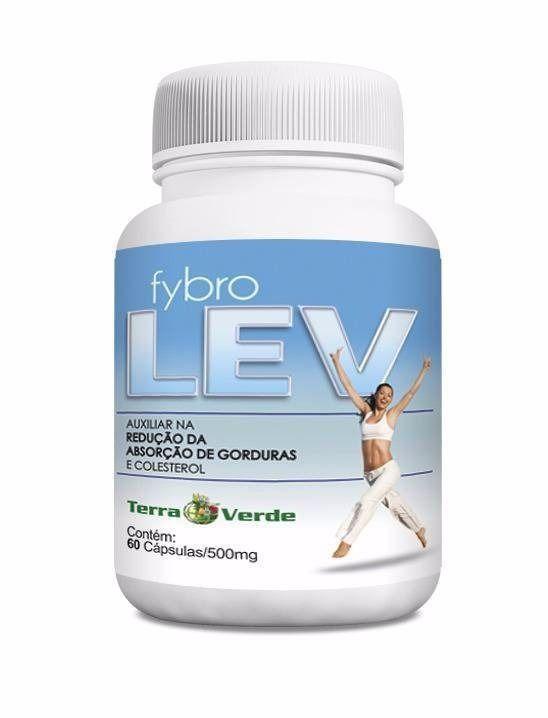 Fybro Lev 500 mg - 60 Cápsulas (TERRA VERDE)