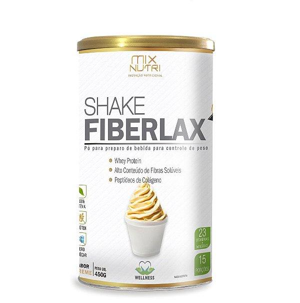 Shake Fiberlax Creme - 450g Mix Nutri