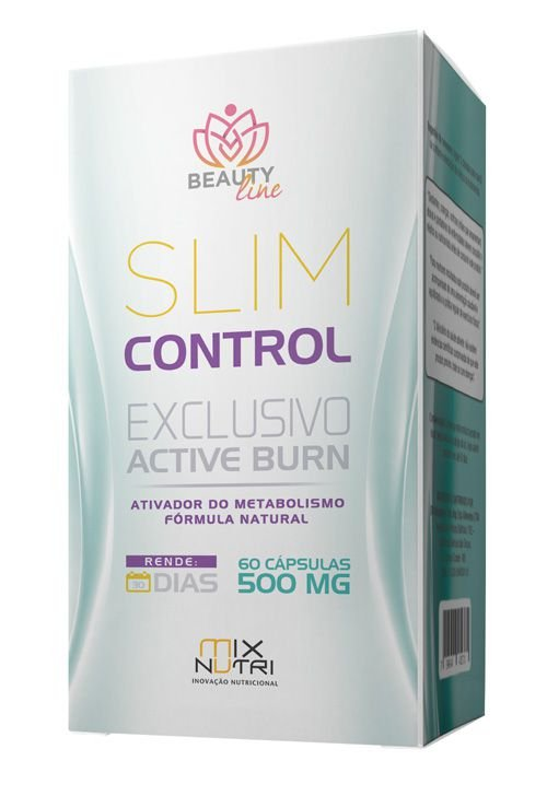 Slim Control 500mg - 60 Cápsulas - Mix Nutri