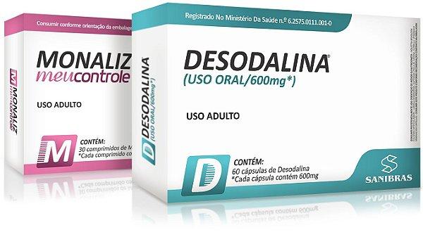 Kit Emagrecedor e Inibidor de Apetite (Desodalina e Monaliz)