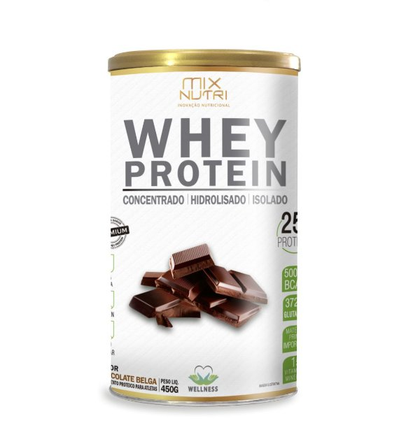 Whey Protein Sabor Chocolate - 450g (Mix Nutri)