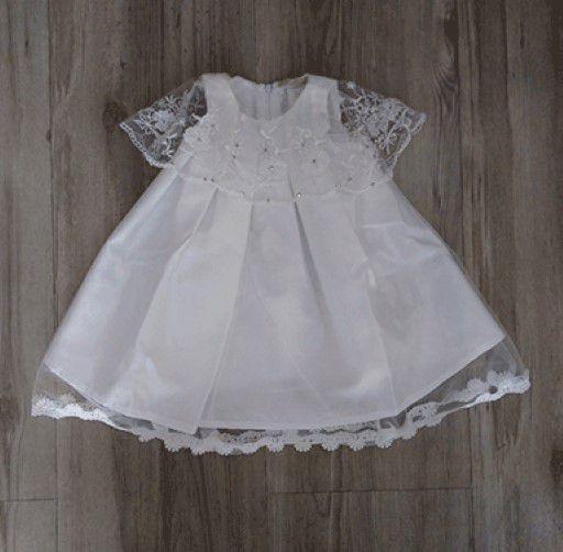 c66fa28bf Vestido Infantil De Festa - Petit Cherie - Sem Manga Com Babado Bordado