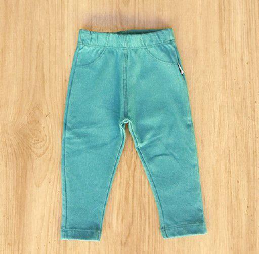 223fcb746 Calça Legging Infantil Feminina Jeans Verde - Hering Kids - Roupa ...