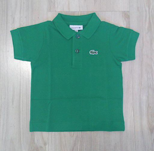 d4b0a5db15 Camisa Infantil Masculina - Lacoste - Gola Polo Manga Curta Básica ...