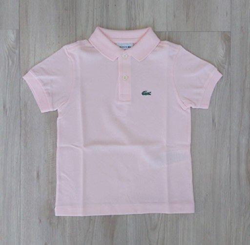 3b4e7b95f18d8 Camisa Infantil Masculina - Lacoste - Gola Polo Manga Curta Básica ...