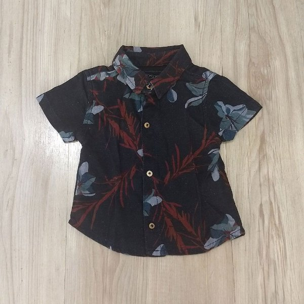 bdfe744222 Camisa Infantil Masculina - Reserva Mini - Gola Polo Floral - Roupa ...