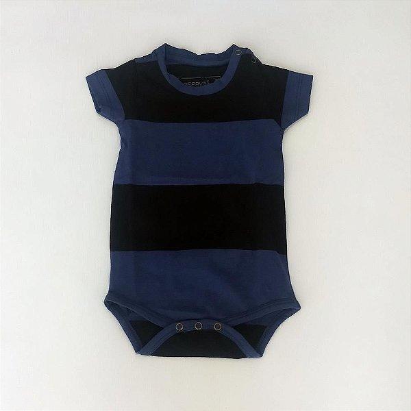 91cbb78c42 Body Infantil Masculino Manga Curta Listras - Reserva Mini - Roupa ...