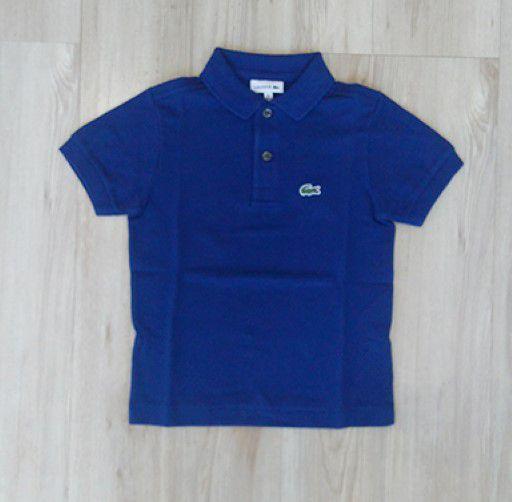 5f71e8657 Camisa Infantil Masculina - Lacoste - Gola Polo Manga Curta Básica ...
