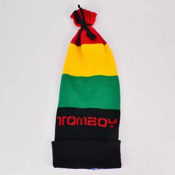 Touca Tomboy Rasta Comprida