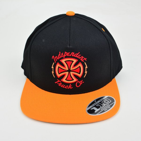 Boné Independent Voltage Snapback Orange