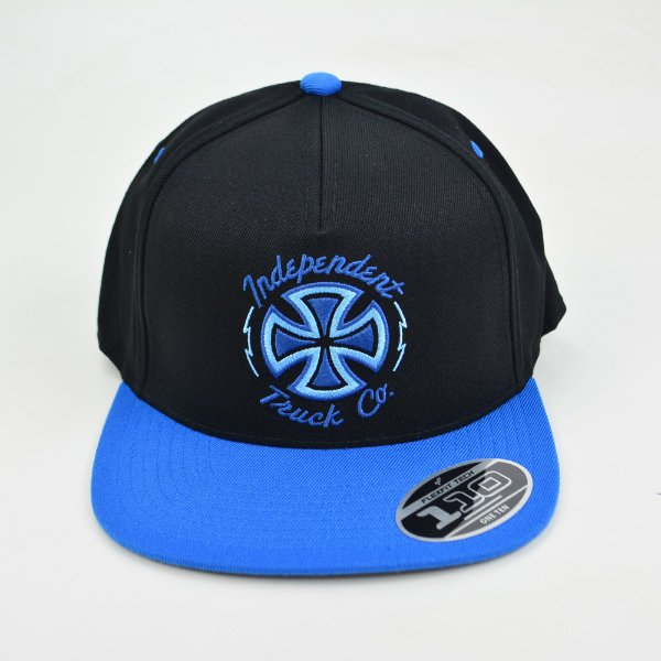 Boné Independent Voltage Snapback Blue