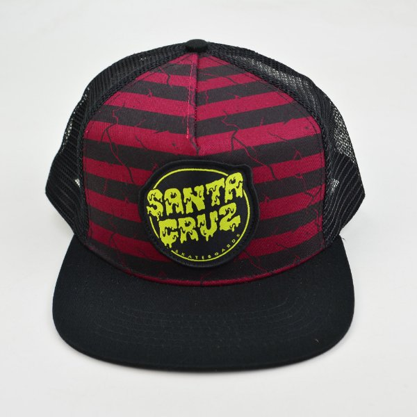 Boné Santa Cruz Trucker Break Down Black