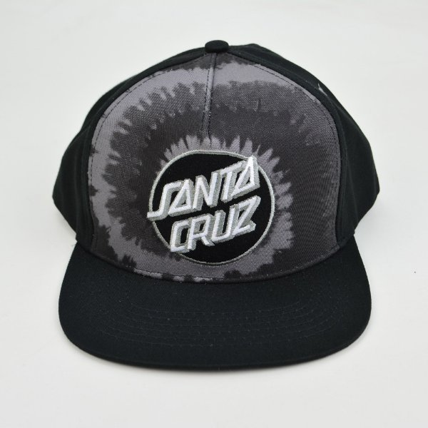 Boné Santa Cruz Trucker Smoke Tie Dot Gray