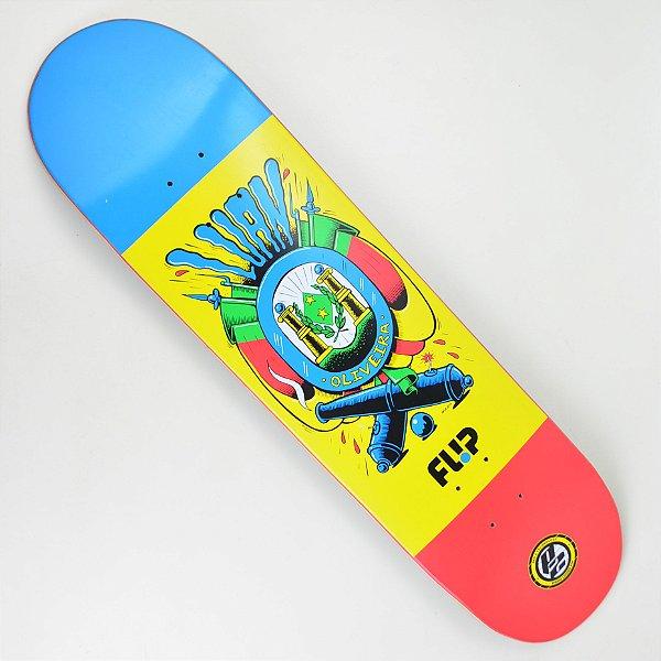 "Shape Skate Flip Luan Oliveira Flag P2 8.1"""