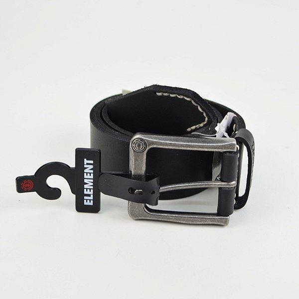 Cinto Element Carloff Leather Black