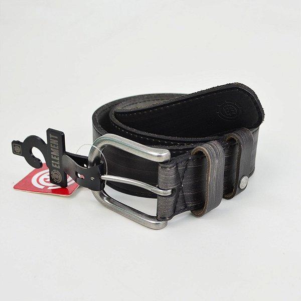 Cinto Element Vault Leather Black