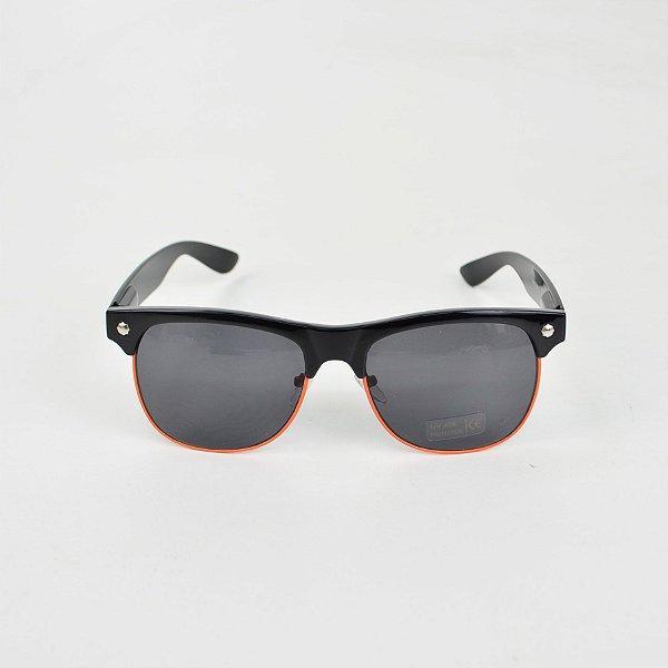Óculos Glassy Shredder Preto Laranja