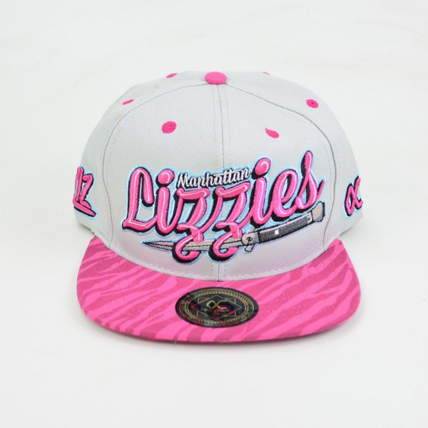 Boné Other Culture Manhattan Lizzies Bege Pink