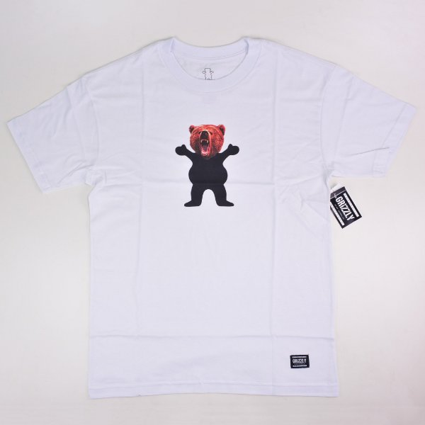 Camiseta Grizzly Og Yosemite Bear White