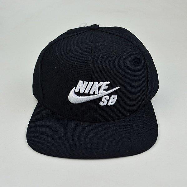 Boné Snapback Nike Sb Icon Pro Preto