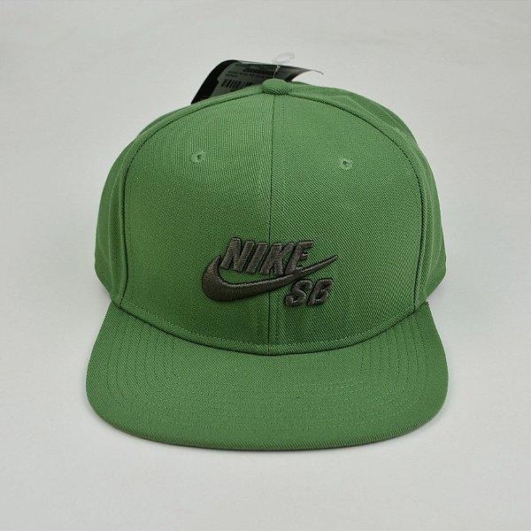 Boné Snapback Nike Sb Icon Pro Verde