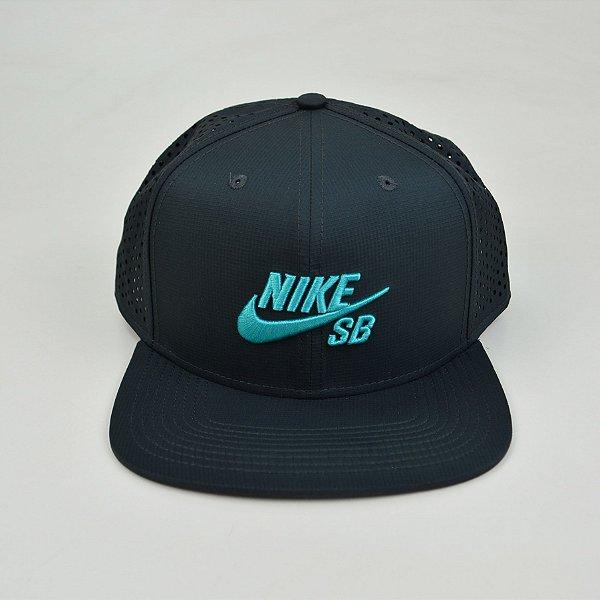 Boné Nike SB Performance Trucker Azul