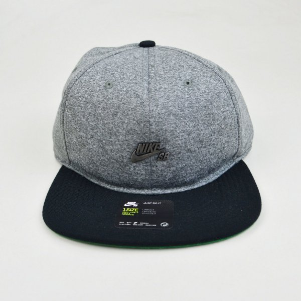Boné Nike Sb Arobill Dri Fit Grey Black