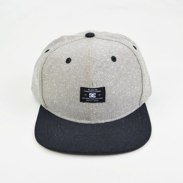 Boné Snapback DC Shoes Premium Heather Grey