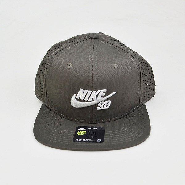 Boné Nike SB Performance Trucker Pro Grey