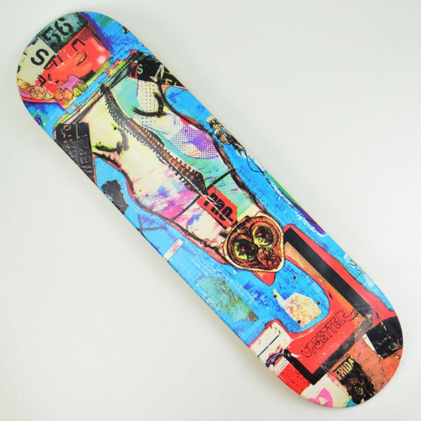 Shape Skate Drop Dead Heat Transfer Sesper 4 - 8.3""