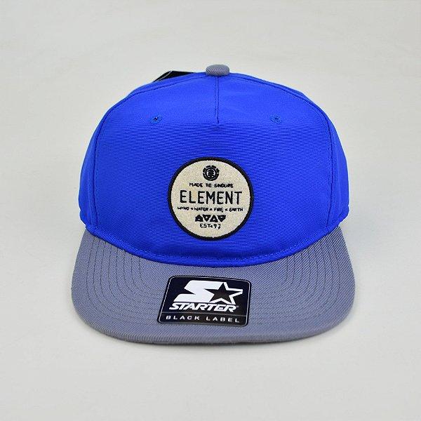 Boné Element Brix Snap Blue/Grey