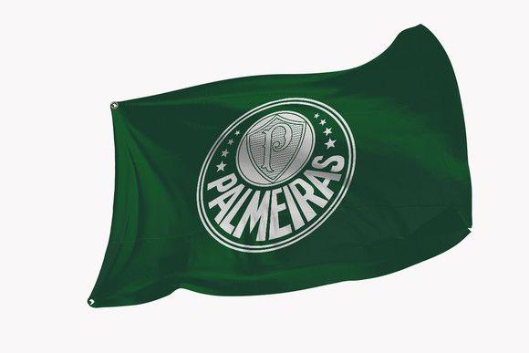 Bandeira do Palmeiras - Diversos Tamanhos - Modelo 3