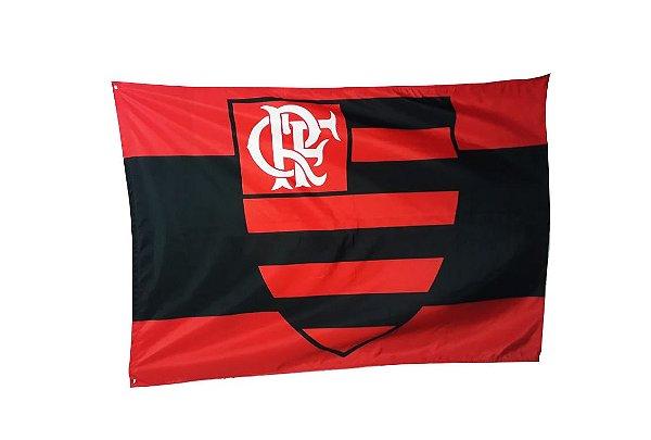 Bandeira do Flamengo - Tamanhos 1m / 1,40m / 2,0m